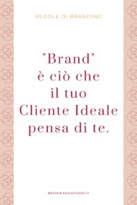 brand branding personal brand marketing piccola attività