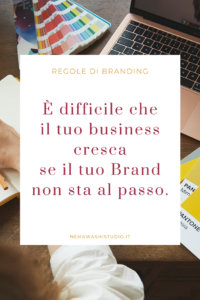 rebrand branding marchio logo business strategia