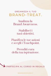 retreat brand awareness strategia posizionamento