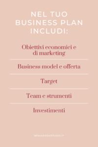 business plan piano di business piccoli brand imprenditrice solopreneur come si fa nemawashi studio